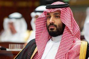 Saudi Crown Prince Mohammed bin Salman attending the inauguration of the Shura Council new session, in Riyadh, Saudi Arabia, on Nov 19, 2018.