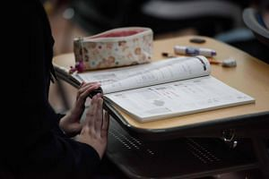 Education in South Korea is focused on competing for college entrance, culminating in high-pressure nationwide exams in the last year of high school, on which students stake their futures.