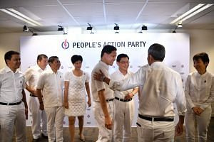 Finance Minister Heng Swee Keat was picked as first assistant secretary-general of the People's Action Party, while Trade and Industry Minister Chan Chun Sing was selected as second assistant secretary-general.