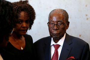 Former Zimbabwe president Robert Mugabe is in Singapore for medical care. The 94-year-old is now unable to walk because of ill health and old age.
