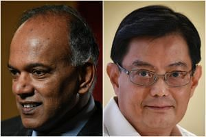 Home Affairs and Law Minister K. Shanmugam said that Finance Minister Heng Swee Keat is a careful and deliberate leader.