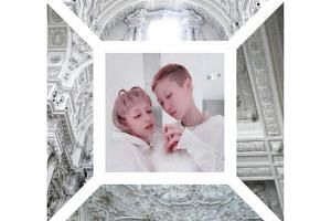 Andi Autumn (left) and Etta Ng in a social media post commemorating their wedding on Nov 26, 2018.