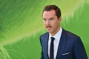 Actor Benedict Cumberbatch voices the eponymous green monster in The Grinch, a remake of a classic 1957 children's book by Dr Seuss.