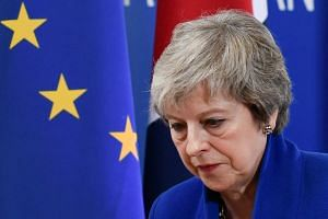 British Prime Minister Theresa May secured an agreement with European Union leaders on Sunday (Nov 25) that will see Britain leave the bloc in March next year with continued close trade ties.