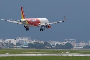 VietJet said all passengers were safe, with some slightly injured and immediately taken to hospital but since discharged. The Civil Aviation Authority of Vietnam said six passengers were injured.