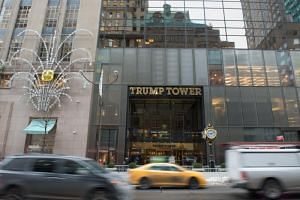 Trump Tower on Fifth Avenue in New York.