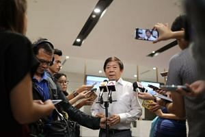"""Transport Minister Khaw Boon Wan said the Malaysian actions """"are clearly a violation of our sovereignty and international law""""."""