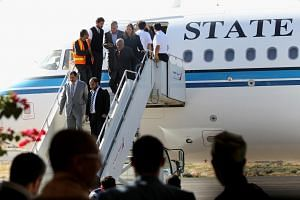 The plane, bound for Sweden, carried international and Yemeni hopes for the fragile political process.