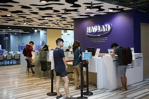 Kaplan Singapore chief operating officer and provost Rhys Johnson said Kaplan Professional has put in extra measures, including stepping up the frequency of unannounced classroom visits by staff. All trainers will also have to undergo additional comp