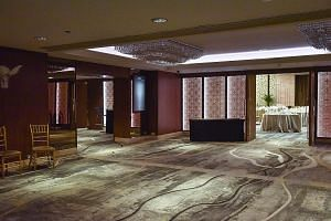 The hotel is working to clean and sanitise the Grand Mandarin Ballroom and dispose of all ready-to-eat food, as instructed by the authorities. According to the Mandarin Orchard, organisers of all upcoming events have been told to make alternative arr