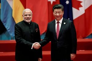 Indian Prime Minister Narendra Modi and Chinese President Xi Jinping have met a number of times this year to give impetus to trade discussions.