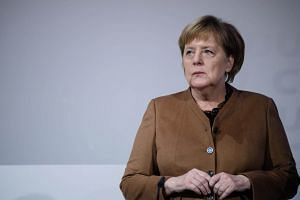 Dr Angela Merkel said in October she would step down as party chief but remain chancellor, after a series of setbacks since her decision in to keep German borders open to refugees fleeing war in the Middle East.