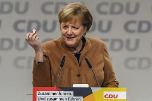 German Chancellor Angela Merkel has expressed the desire to see out her fourth term until 2021.