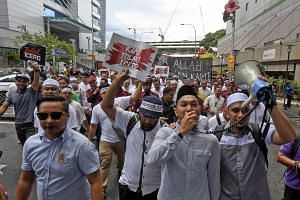 A street protest organised by Umno Youth and PAS Youth last month drew more than 1,000 people who marched in downtown Kuala Lumpur to protest against the UN human rights charter ICERD. A similar rally tomorrow is expected to draw 500,000 people.