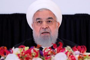 Iran's President Hassan Rouhani is seeking to foster a united front from visiting regional officials.