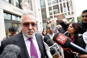 Indian tycoon Vijay Mallya left India in March 2016 owing more than US$1 billion (S$1.37 billion) after defaulting on loan payments to state-owned banks and allegedly misusing the funds.