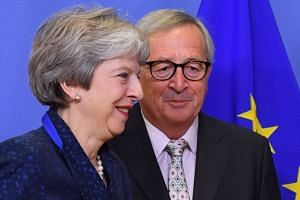 Britain's Prime Minister Theresa May is due to visit the Hague, Berlin and Brussels on Dec 11, 2018, as she seeks more concessions from the European Union on the Brexit deal.