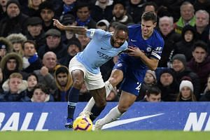 Raheem Sterling was subjected to reported racist abuse from Chelsea fans during Manchester City's 2-0 defeat at Stamford Bridge on Dec 9, 2018.