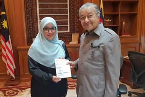 Umno's former Puteri (Young Women) chief Mas Ermieyati Samsudin joined the political party of Prime Minister Mahathir Mohamad on Dec 13, 2018.