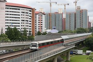 LTA said that the barriers, which are expected to reduce noise levels from passing trains by about five to 10 decibels, should be installed by around 2023.