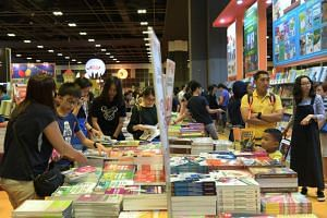 The 12th edition of BookFest opened at Suntec Singapore on Dec 14, 2018.