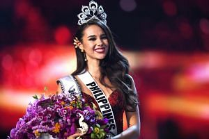 Catriona Gray of the Philippines was crowned Miss Universe 2018, on Dec 17, 2018.