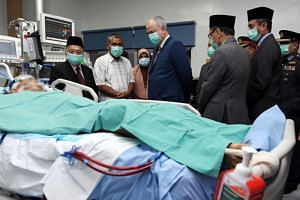 The National Heart Institute said Mr Muhammad Adib Mohd Kassim's condition was critical after suffering progressive deterioration of his lung and kidney function over the past 24 hours.