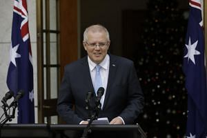 Australia Prime Minister Scott Morrison's conservative coalition is ten points back in the polls, according to a recent Newspoll survey.