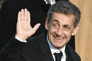 Sarkozy (above) led France from 2007 to 2012 on a hardline law-and-order platform.