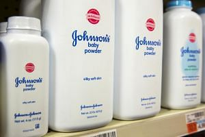 J&J said its talc is routinely tested by both suppliers and independent labs to ensure that it is free of asbestos.
