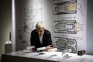 Mr James Dyson did design at art school and discovered his passion for designing and creating things.