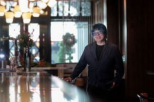 London-born celebrity chef Alvin Leung's menu in Singapore is a tribute to Asian cuisine.