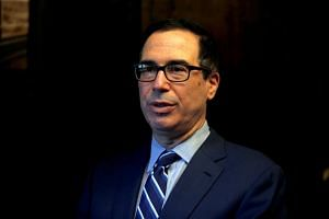 Treasury Secretary Steven Mnuchin called top US bankers amid an ongoing rout on Wall Street.