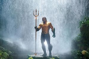 Jason Momoa stars as Aquaman, a half-Atlantean, half-human who is reluctant to be king of the undersea nation of Atlantis.