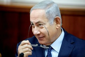 The poll predicted that Israeli Prime Minister Benjamin Netanyahu, now in his fourth term, could control at least 63 parliamentary seats, two more than his coalition now holds.