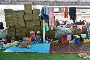 The money, which is being collected though an ongoing month-long public appeal, will go towards buying relief items for displaced survivors and longer-term recovery and rebuilding efforts.