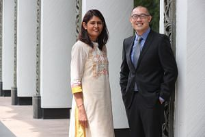 Tampines North Primary School principal Ratna Kumari and Bukit View Secondary School principal Kevin Ang were two of 66 principals who received their letters of appointment at Shangri-La Hotel on Dec 27, 2018.