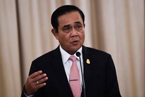 Thailand's Prime Minister Prayut Chan-o-cha has instructed officials to step up security measures after a series of attacks by suspected insurgents.