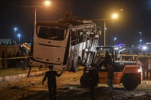 A group of five, which included family members, arrived in Cairo two days after a blast hit a tour bus killing three Vietnamese holidaymakers and an Egyptian guide.