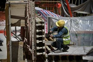 There were 12 deaths in the construction industry for the whole of last year, down from 24 in 2016.