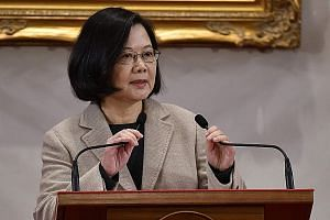 In her New Year's address, Taiwanese President Tsai Ing-wen said the two sides of the Taiwan Strait needed a pragmatic understanding of the basic differences that existed between them in terms of values and political systems.