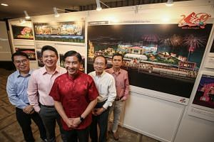 Mr Ang Wei Neng (in the middle), chairman of the River Hongbao organising committee, said River Hongbao 2019 is expected to draw more than a million attendees.