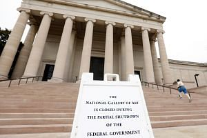 The shutdown has affected an array of federal institutions and services, and some 800,000 federal employees.