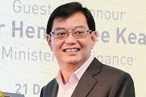 Finance Minister Heng Swee Keat.