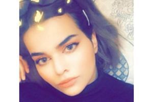 Rahaf Mohammed M. Alqunun said she was trying to flee her family, who subjected her to physical and psychological abuse.