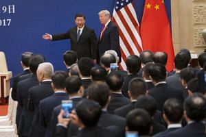 Trade talks between China and the United States are proceeding as planned, with the start of the talks in the Chinese capital also buoyed investor sentiment, with Asian stock markets registering gains.