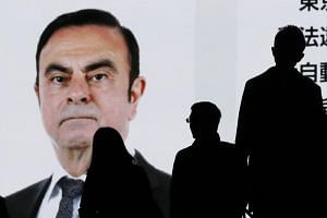Carlos Ghosn offered his first public statement since his arrest, appearing in a Tokyo courtroom on Jan 8, 2019.