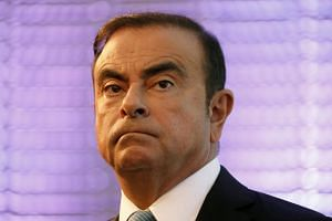 Former Nissan chief Carlos Ghosn appeared to have lost weight in the seven weeks he has been detained.