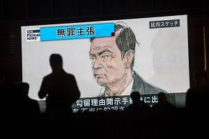 Carlos Ghosn's case has sparked huge international interest and led to criticism from abroad of the Japanese legal system, which allows the authorities to detain suspects for long periods without formal charges.