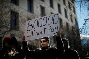About 800,000 federal workers missed their pay for the first time on Friday – at least some receiving pay stubs for US$0.00 – as unions sued the government for requiring their members to work without pay.